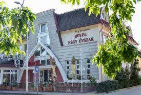 Hotel Négy Évszak szálláshelyek Hajdúszoboszlón